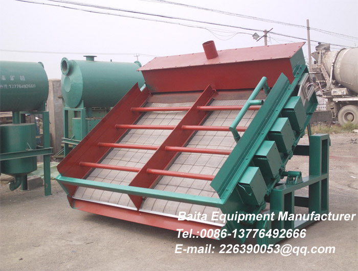 Electromagnetic Vibrating Screen
