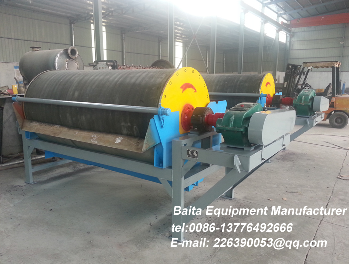 Permanent Magnet Drum Separator-magnetic separator for Minin
