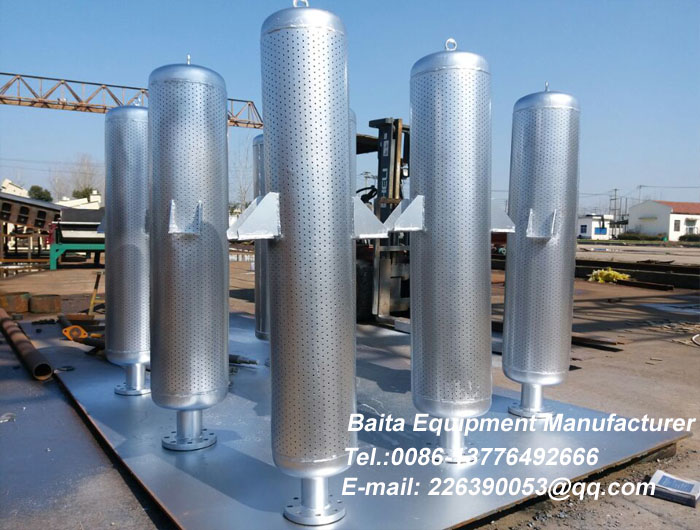 Silencer of relief valve