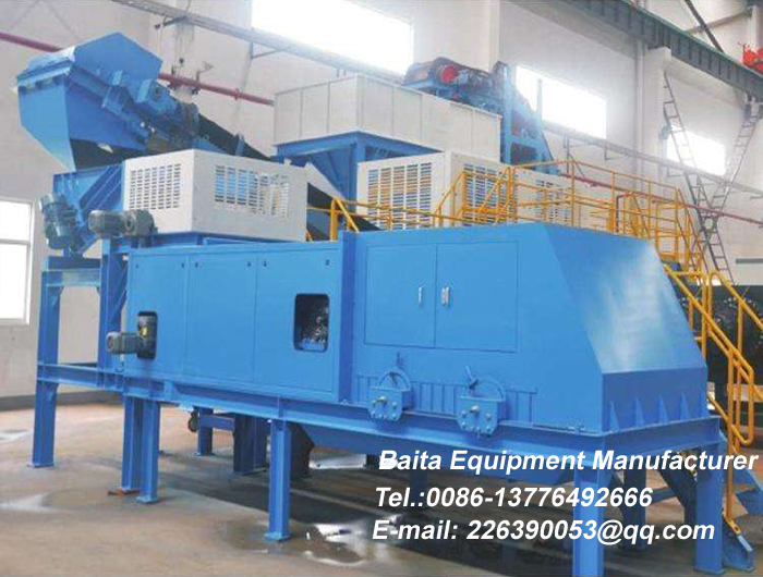 Eddy Current Separator in Operation