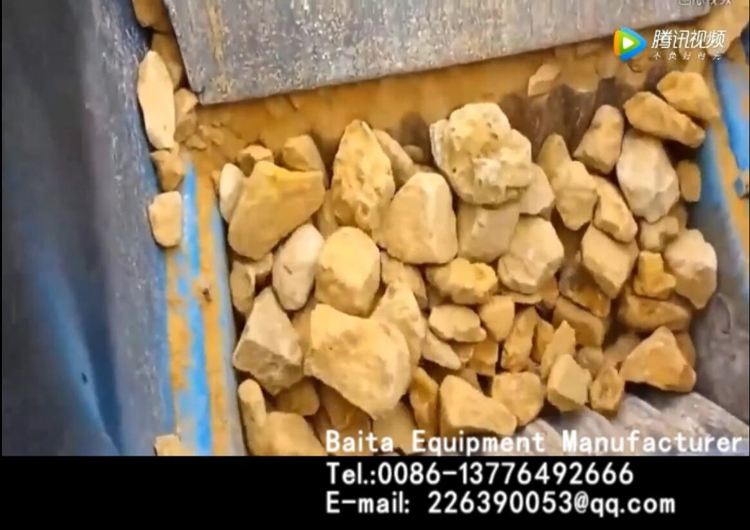 Jaw crusher-Crusher-Operation site of jaw crusher