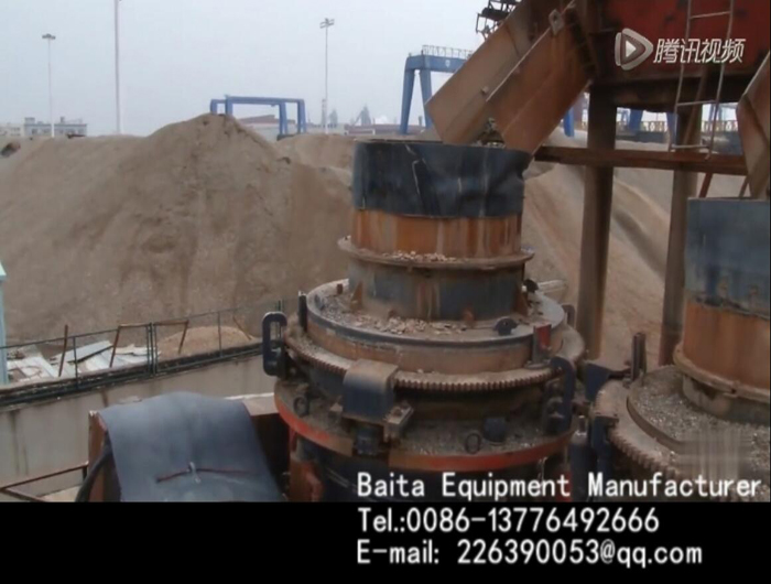 Cone Crusher-Stone production line