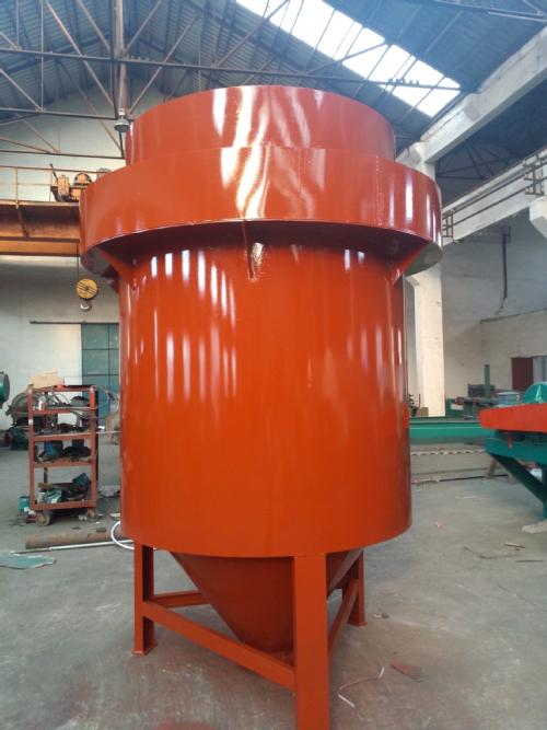 Variable Diameter Magnetic Agglomeration Gravity Separator