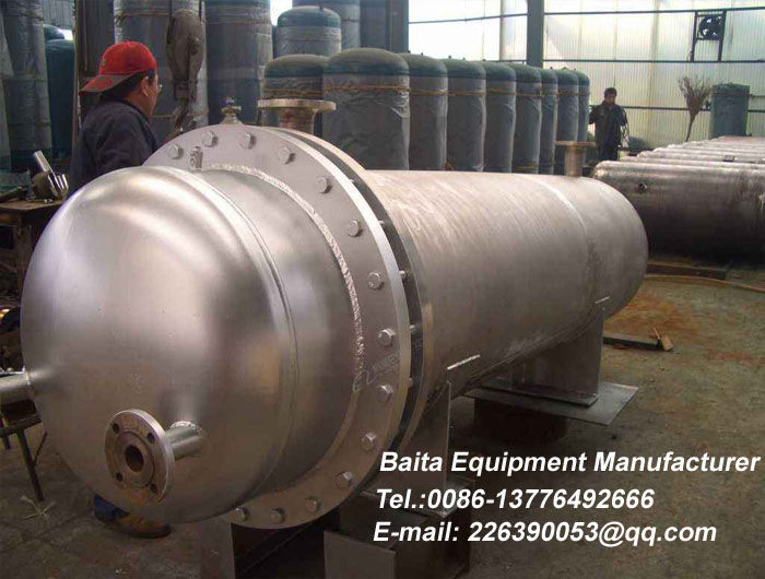 shell-and-tube (heat) exchanger