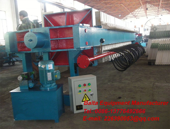 Diaphragm filter press