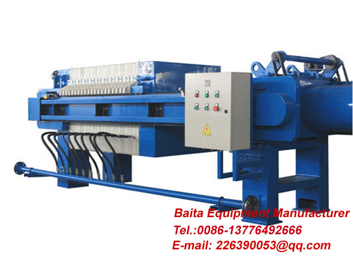 Diaphragm filter press-Sewage treatment press filter